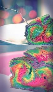 Yummy birthday cake